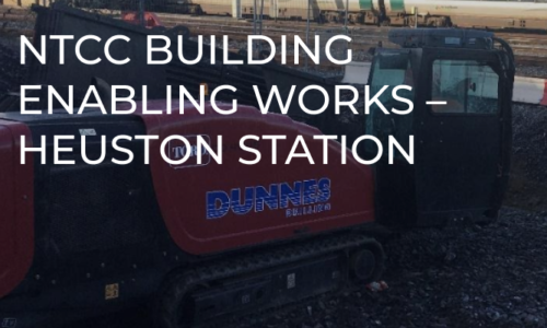 NTCC Building Enabling Works - Heuston Station